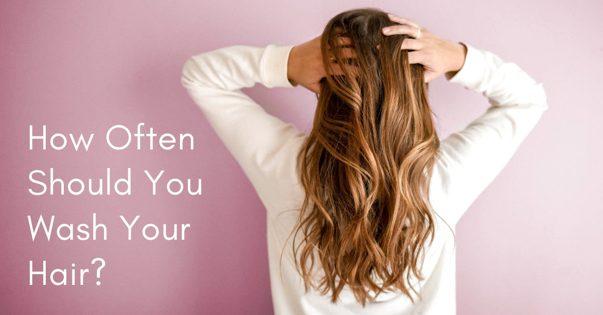 How Often Should You Wash Your Hair Women S Hair Care Tips Charliecurls