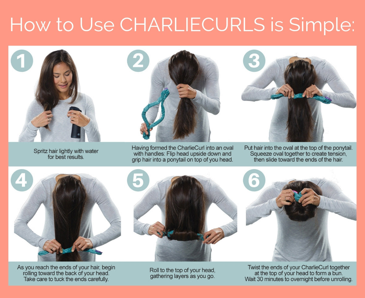 Easy ways to curl your hair heatless