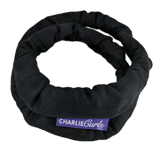 Black | CharlieCurls No Heat Hair Curler