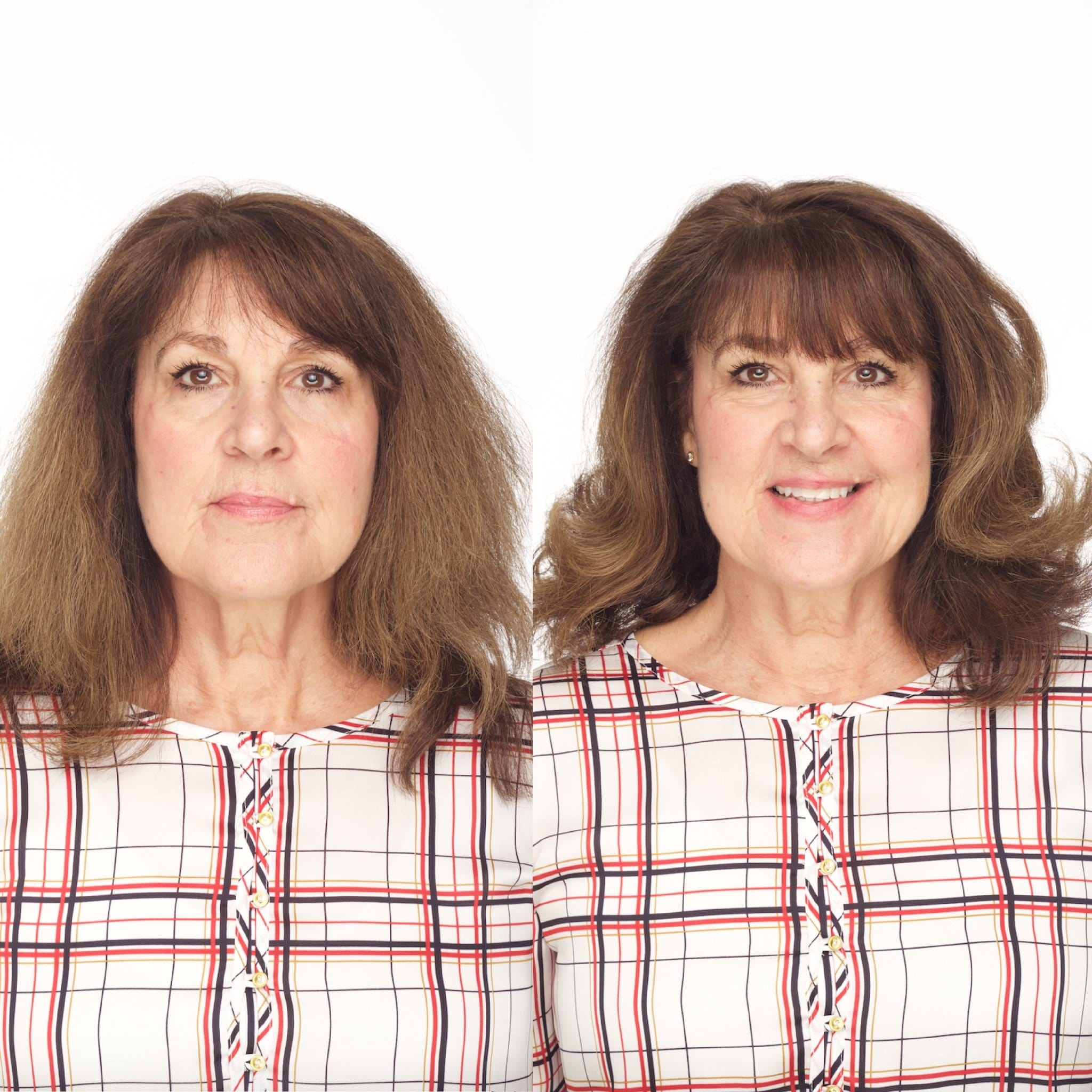 Before & After | CharlieCurls No Heat Hair Curler
