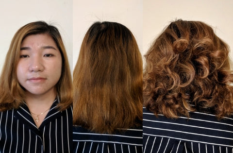 Before & After | CharlieCurls No Heat Hair Curler Results