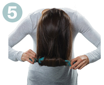 Step 5 | How to Use CharlieCurls No Heat Hair Curler