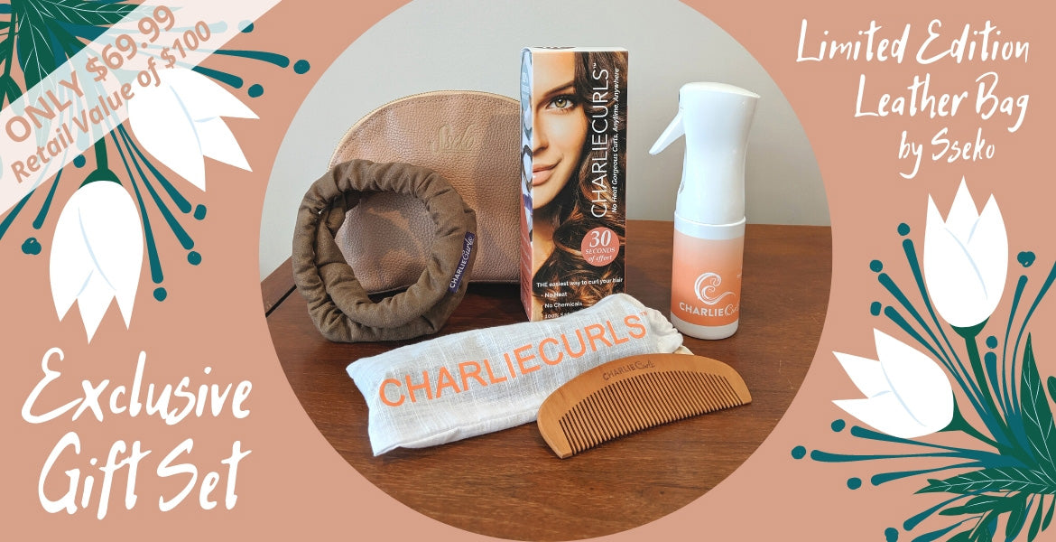 Limited Edition Gift Set | CharlieCurls No Heat Hair Curler