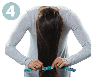 Step 4 | How to Use CharlieCurls No Heat Hair Curler