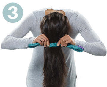 Step 3 | How to Use CharlieCurls No Heat Hair Curler