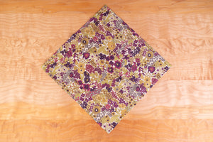 Pocket Square, Floral Cotton