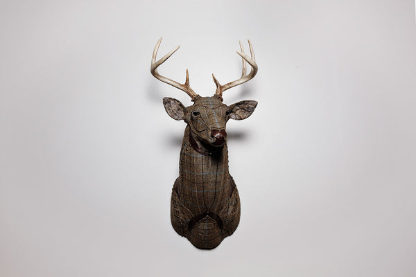 Fabric Stag Taxidermy