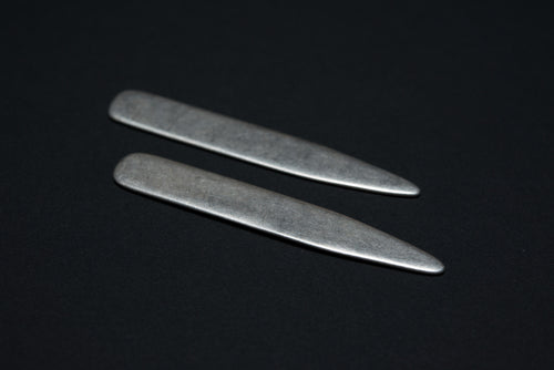 Sterling Silver Collar Stays