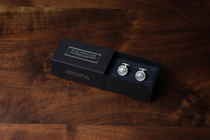Solid Sterling Silver Cufflinks - Lion's Head