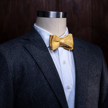 Handmade Silk Bowtie, Yellow