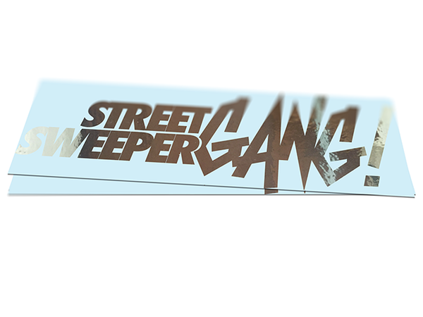 Street Sweeper GANG! DIE-CUT