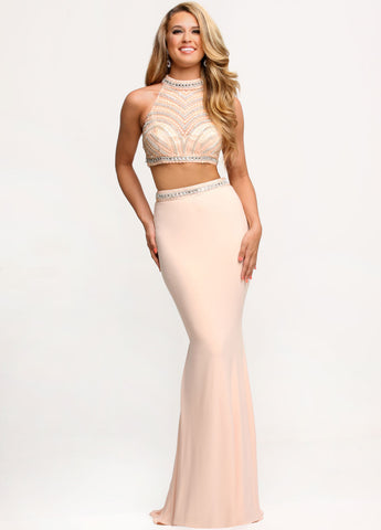 Sparkle Prom Style # 71684 two piece dress – Top Hat Formals