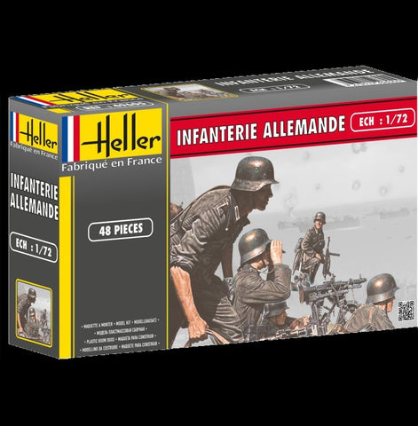 Heller Military 1/72 German Infantry (48) Kit