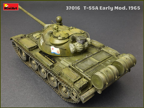 V-55 Engine 1:35 Plastic Model Kit MINIART