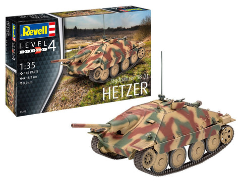 Revell Germany Military 1/35 Jagdpanzer 38 (t) Hetzer Kit