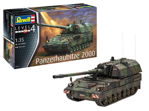 Revell Germany Military 1/35 Panzerhaubitze 2000 Tank Kit