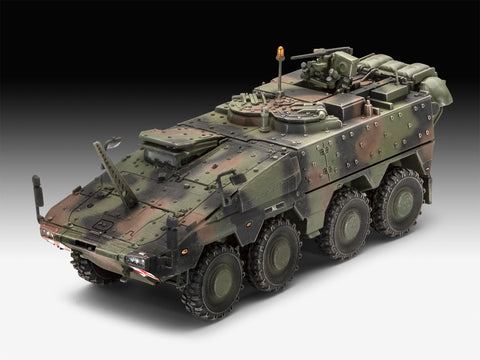 Revell Germany Military 1/72 GTK Boxer Command Post NL Kit