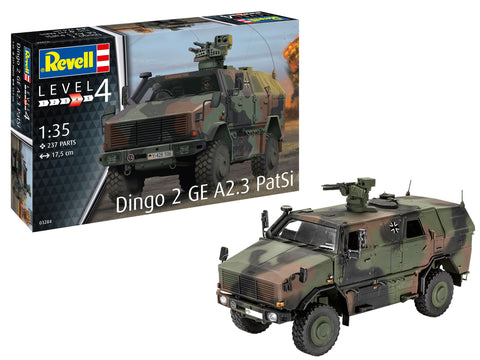 Revell Germany Military 1/35 Dingo 2 GE A2.3 PatSi Kit