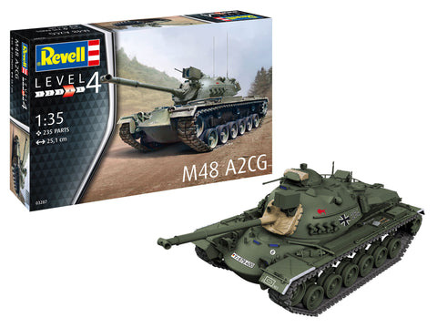 Revell Germany Military 1/35 M48/A2CG Tank Kit