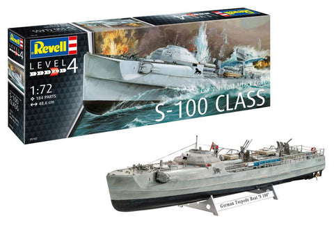Revell Germany Ship 1/72 German Fast Attack Craft S-100 Kit