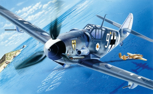 Italeri Aircraft 1/72 Messerschmitt BF109G6 Aircraft Kit