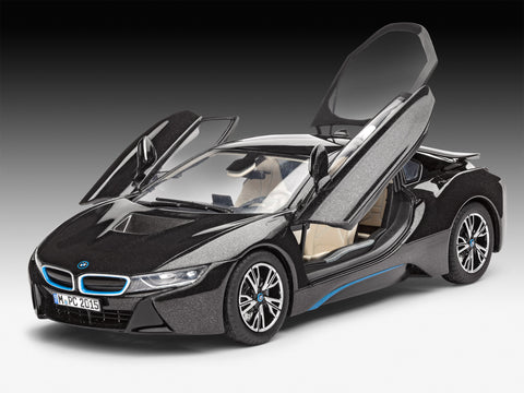Revell Germany Cars 1/24 BMW i8 Sports Car Kit