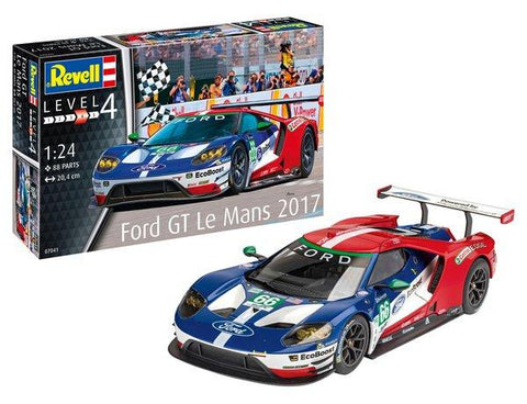 Revell Germany Model Cars 1/24 Ford GT LeMans 2017 Race Car (New Tool) Kit