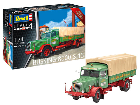 Revell Germany Model Cars 1/24 Bussing 8000 S13 Transport Truck Kit
