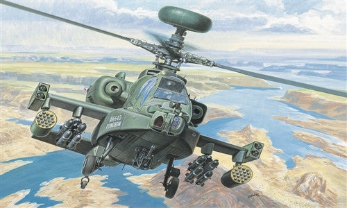 Italeri Aircraft 1/72 AH64D New Longbow Helicopter Kit
