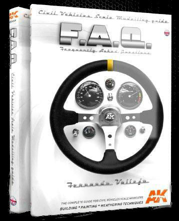 AK Interactive 	FAQ Civil Vehicles Scale Modeling Guide Book