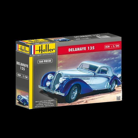 Heller Model Cars 1/24 Delahaye 135 Car Kit