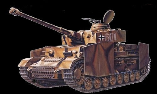 Academy Military 1/35 PzKpfw IV Ausf H4 Tank Kit