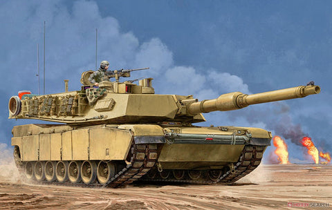 Trumpeter Military 1/16 US M1A2 SEP Main Battle Tank (New Variant) Kit