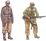 Italeri Military 1/72 WWII DAK Infantry (48 Figures) (Re-Issue) Set