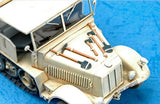 Trumpeter Military Models 1/35 German SdKfz 7 8-Ton Halftrack Late Version Kit