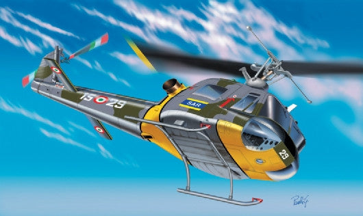 Italeri Aircraft 1/72 AB204 B/UH1F Helicopter Kit