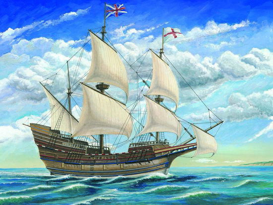 Trumpeter Ship Models 1/60 Mayflower Sailing Ship Kit