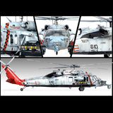Academy Aircraft 1/35 MH60S HSC9 Tridents USN Sea Combat Helicopter Kit