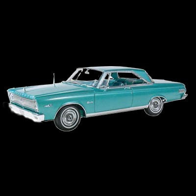 Moebius Model Cars 1/25 1965 Plymouth Satellite Car Kit