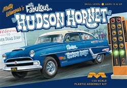 Moebius Model Cars 1/25 1954 Fabulous Hudson Hornet Matty Winspur's Stock Car Kit