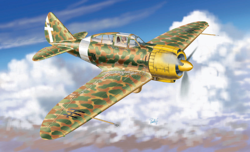 Italeri Aircraft 1/72 Reggiane RE2000 GA Monoplane Fighter Kit