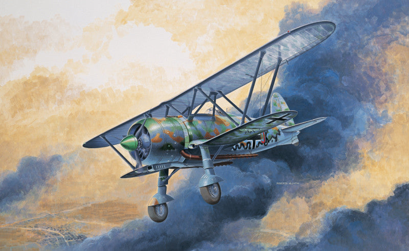 Italeri Aircraft 1/72 CR42 LW BiPlane Fighter Kit