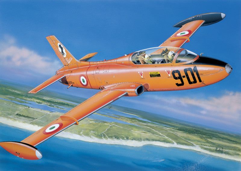 Italeri Aircraft 1/72 MB 326 Trainer Aircraft Kit