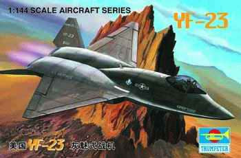 Trumpeter Aircraft 1/144 YF23 Fighter Kit