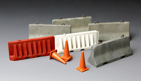 Meng Military Models 1/35 Concrete & Plastic Barrier Kit