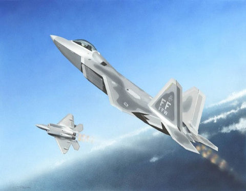 Trumpeter Aircraft 1/144 F22A Raptor Fighter Kit
