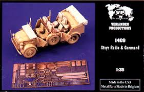 Verlinden Productions 1/35 Steyr Radio & Command WWII