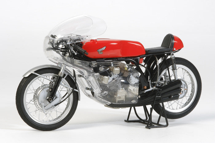 Tamiya Model Cars 1/12 Honda RC166 GP Racing Motorcycle (Full View) Kit