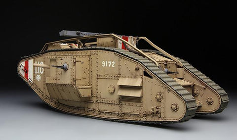 Meng Military 1/35 British Heavy Mk V Male Tank Kit