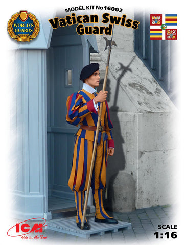 ICM Military 1/16 Vatican Swiss Guard Kit